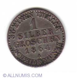 Image #1 of 1 Silber Groschen 1864 A