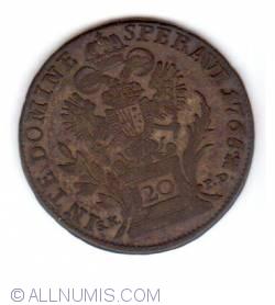 Image #1 of 20 Kreuzer 1765 B-K SK-PD (1775)