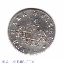 Image #1 of 1/12 Thaler 1812 SGH