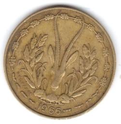 Imaginea #2 a 10 Francs 1966