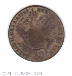 Image #1 of 20 Kreuzer 1829 E