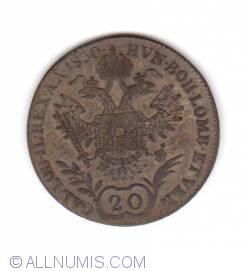Image #1 of 20 Kreuzer 1830 E