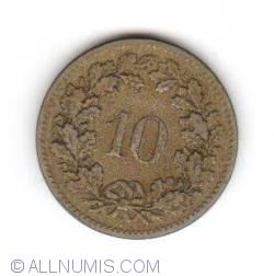 Image #1 of 10 Rappen 1899