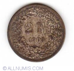 Image #1 of 2 Francs 1903