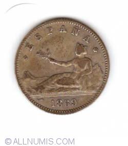 Image #1 of 1 Peseta 1869