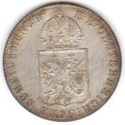 Imaginea #2 a 6 Kreuzer 1849 C