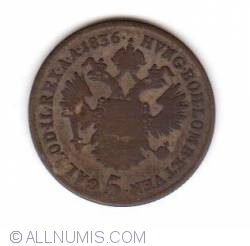 Image #1 of 5 Kreuzer 1836 A
