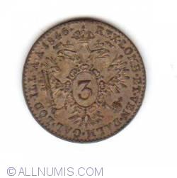 Image #1 of 3 Kreuzer 1846 A