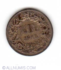 Image #1 of 1/2 Franc 1916