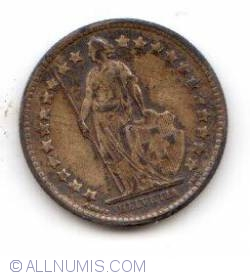 1/2 Franc 1916