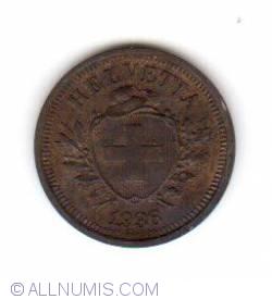 Image #2 of 1 Rappen 1936 B