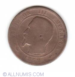 Image #2 of 10 Centimes 1852 A