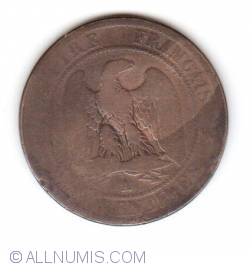 Image #1 of 10 Centimes 1852 A