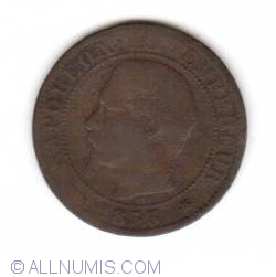 Image #2 of 5 Centimes 1853 BB