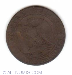 Image #1 of 5 Centimes 1853 BB