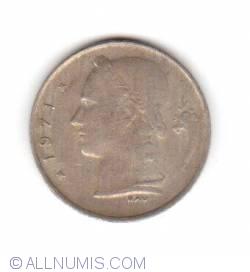 Imaginea #2 a 1 Franc 1971 (Belgique)