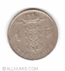 Imaginea #1 a 1 Franc 1971 (Belgique)