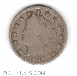 Liberty Head Nickel 1908
