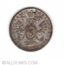 3 Kreuzer 1837 (A)