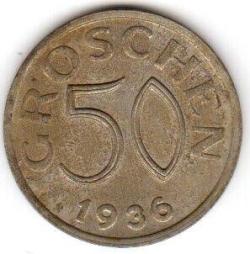 Image #1 of 50 Groschen 1936