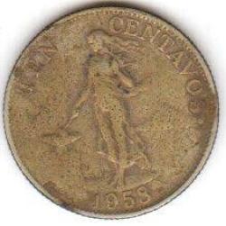 Image #2 of 10 Centavos 1958