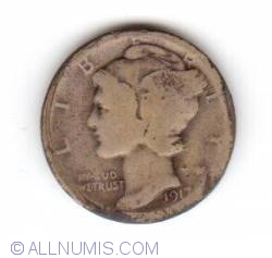 Image #1 of Dime 1917