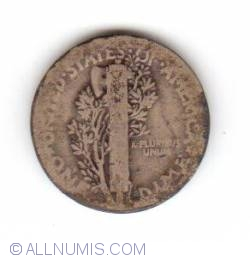 Image #2 of Dime 1917