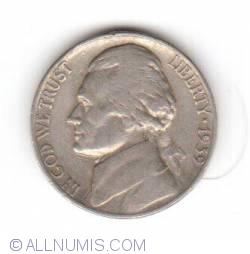 Image #1 of Jefferson Nickel 1939