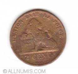 Image #1 of 2 Centimes 1876