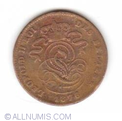 Image #2 of 2 Centimes 1876