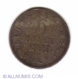 Image #1 of 6 Kreuzer 1826