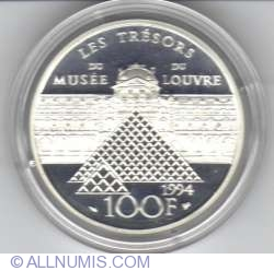 Image #2 of 100 Francs 1994 - Victory of Samothrace