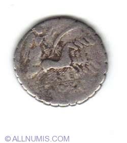 Imaginea #2 a Denarius Antonius Balbus - Antonia