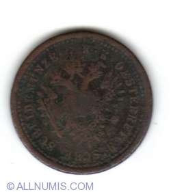 Imaginea #2 a 1 Kreuzer 1851 G
