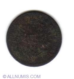 Image #2 of 5/10 Kreuzer 1858 E