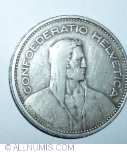 Image #2 of 5 Francs 1931