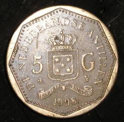5 Gulden 1998