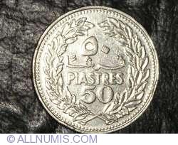Image #1 of 50 Piastres 1970