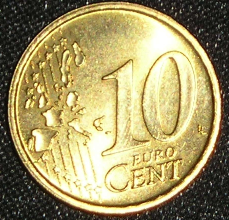 coin of 10 euro cent 2002 from italy id 2252. Black Bedroom Furniture Sets. Home Design Ideas