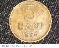Imaginea #2 a 5 Bani 1954