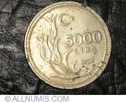 Image #1 of 5000 Lira 1994