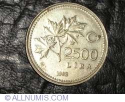2500 Lire 1992