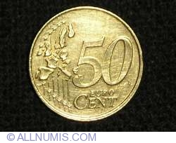 Image #1 of 50 Euro Cent 2002