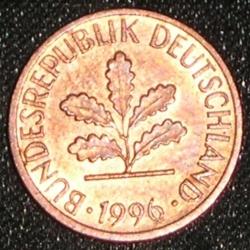 Image #2 of 1 Pfennig 1996 J