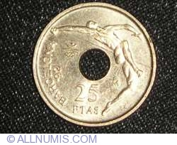 Image #1 of 25 Pesetas 1990
