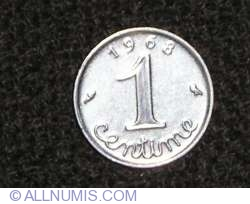 Image #1 of 1 Centime 1968
