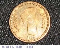 Image #1 of 1 Dinar 1992