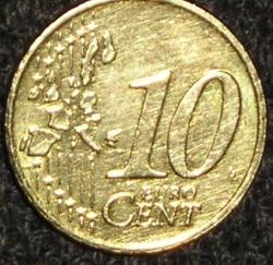 10 Euro Cent 2003
