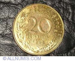Image #1 of 20 Centimes 1995