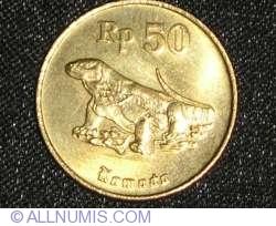 Image #1 of 50 Rupiah 1995